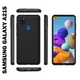 Samsung Galaxy A21S prémium szilikon telefontok, FEKETE - mobshop.hu