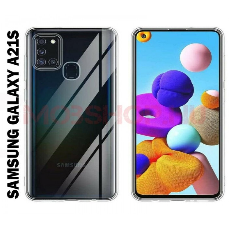 Samsung Galaxy A21s szilikon tok, ÁTLÁTSZÓ - mobshop.hu