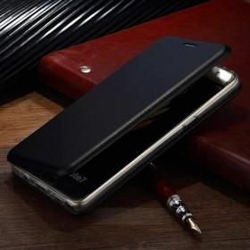 Samsung Galaxy A71 oldalra nyíló Elegance flip telefontok, FEKETE - mobshop.hu