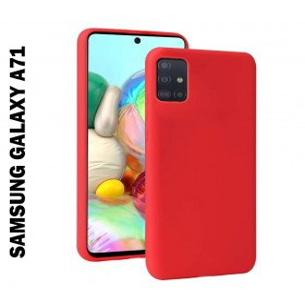 Samsung Galaxy A71 prémium szilikon telefontok PIROS - mobshop.hu