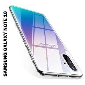 Samsung Galaxy Note 10, Mercury JELLY szilikon telefontok, ÁTLÁTSZÓ - mobshop.hu