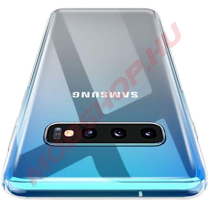 Samsung Galaxy S10 Plus szilikon telefontok ÁTLÁTSZÓ - mobshop.hu