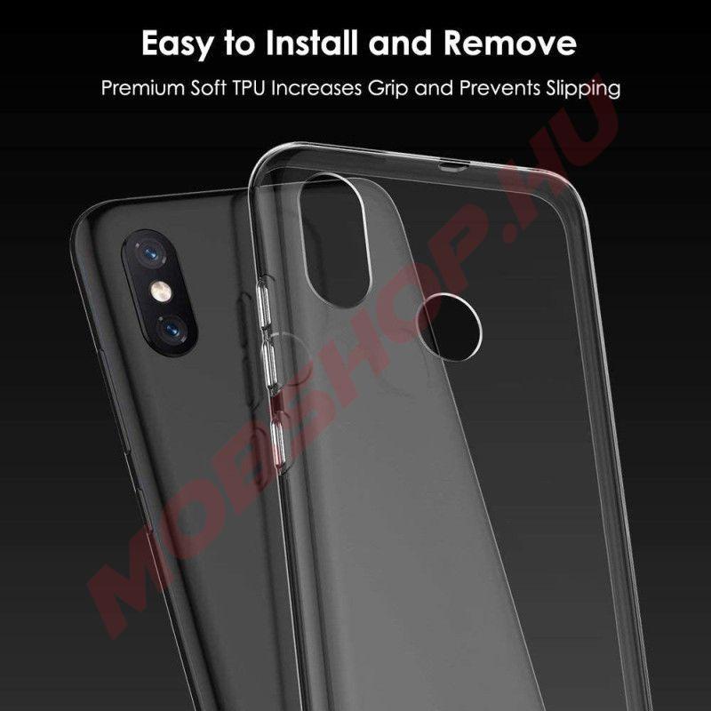 Xiaomi MI 8 SE szilikon BRIO telefontok, ÁTLÁTSZÓ - mobshop.hu