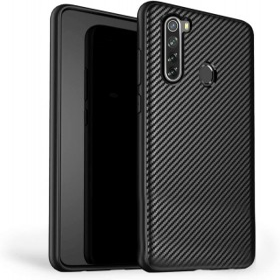 Xiaomi Redmi Note 8T karbon (carbon) mintás szilikon tok, Fekete - mobshop.hu