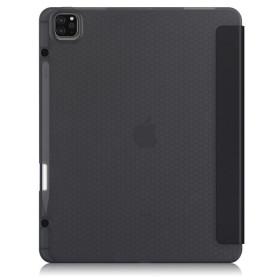 """Apple iPad Pro 12.9"""" 2020 / 2021 tablet tok toll tartóval, fekete - mobshop.hu"""
