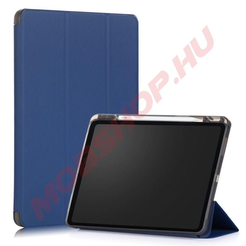 """Apple iPad Pro 12.9"""" 2020 / 2021 tablet tok toll tartóval, kék - mobshop.hu"""