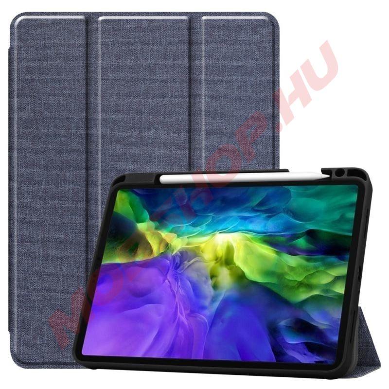 """Apple iPad Pro 11"""" 2020 / 2021 tablet tok toll tartóval, kék - mobshop.hu"""