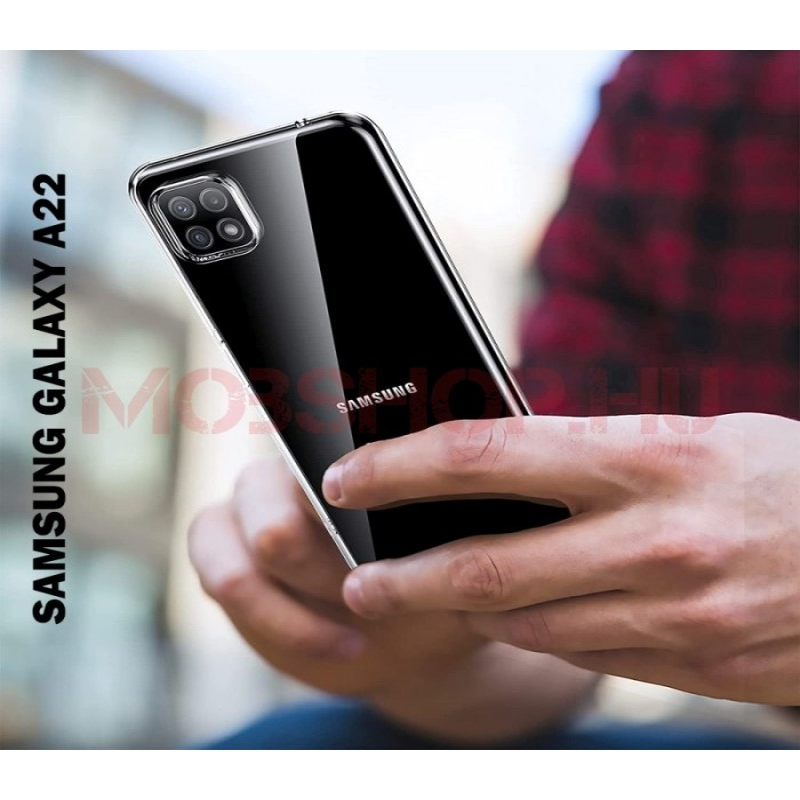 Samsung Galaxy A22 5G szilikon telefontok, átlátszó - mobshop.hu