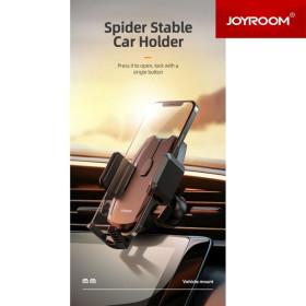JOYROOM JR-ZS255 Spider Air Outlet Autós Tartó - Fekete - mobshop.hu