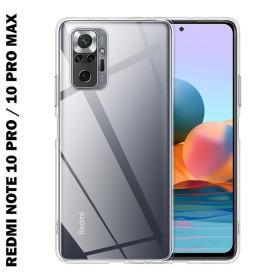 Xiaomi Redmi NOTE 10 PRO / NOTE 10 PRO MAX szilikon tok, átlátszó - mobshop.hu