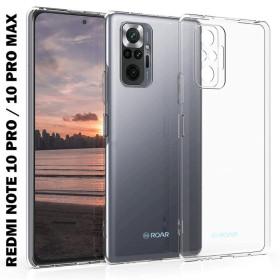 Xiaomi Redmi NOTE 10 PRO / NOTE 10 PRO MAX ROAR szilikon telefontok, átlátszó - mobshop.hu