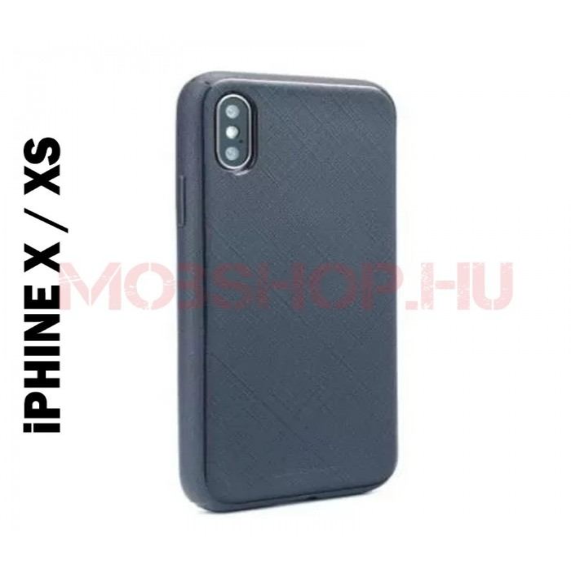 iPhone X / XS LUX MERCURY szilikon telefontok SÖTÉTKÉK - mobshop.hu