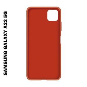Samsung Galaxy A22 5G prémium szilikon telefontok, piros - mobshop.hu