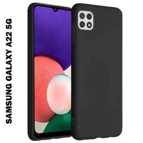 Samsung Galaxy A22 5G prémium szilikon telefontok, FEKETE - mobshop.hu