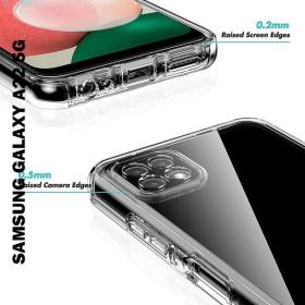 Samsung Galaxy A22 5G prémium ütésálló szilikon telefontok, ÁTLÁTSZÓ - mobshop.hu