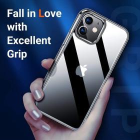 iPhone 12 mini prémium szilikon telefontok, ÁTLÁTSZÓ - mobshop.hu