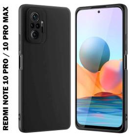 Xiaomi Redmi NOTE 10 PRO / NOTE 10 PRO MAX prémium szilikon telefontok, fekete - mobshop.hu