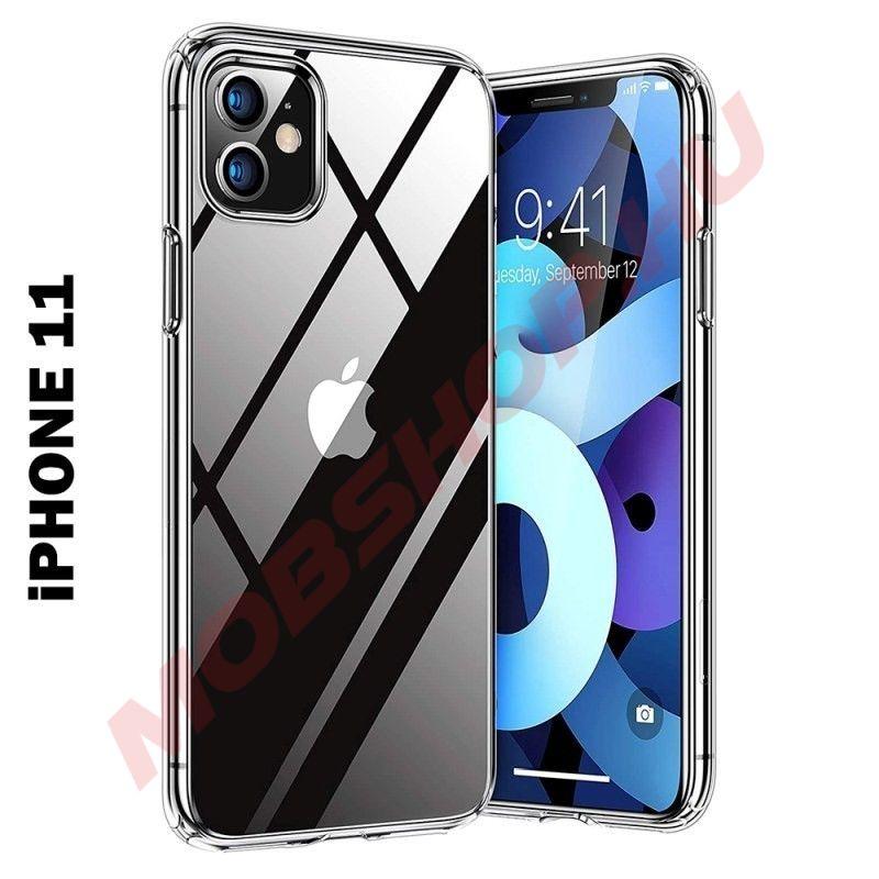iPhone 11 szilikon telefontok, ÁTLÁTSZÓ - mobshop.hu