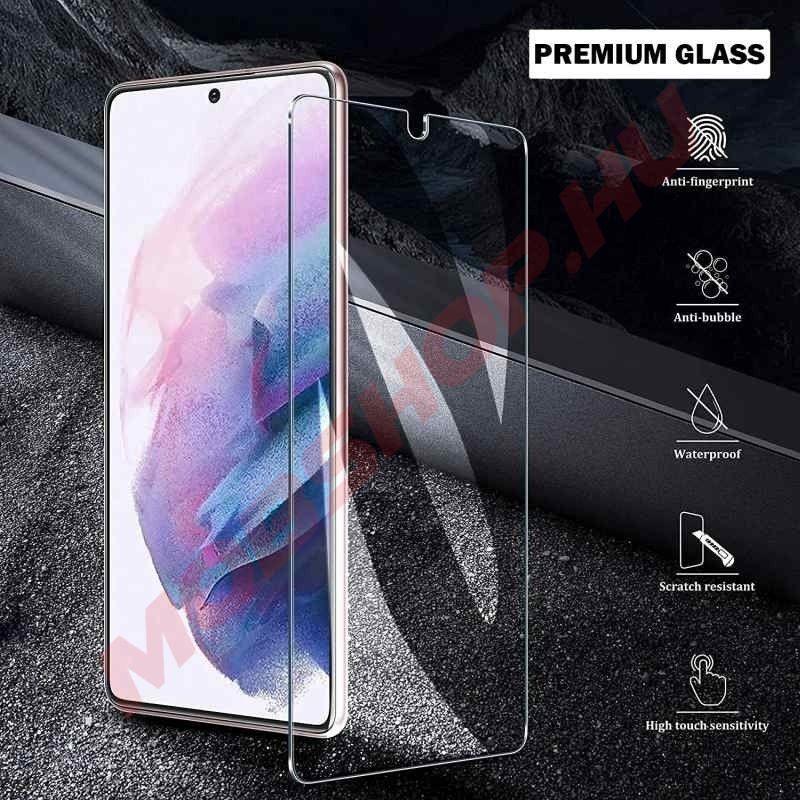 iPhone 13 / 13 PRO kijelzővédő üvegfólia 9H keménység 2,5D - mobshop.hu