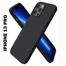 iPhone 13 PRO prémium szilikon telefontok, fekete - mobshop.hu