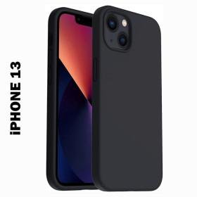 iPhone 13 prémium szilikon telefontok, fekete - mobshop.hu