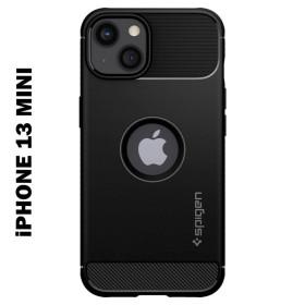 iPhone 13 MINI SPIGEN RUGGED ARMOR szilikon telefontok, FEKETE - mobshop.hu