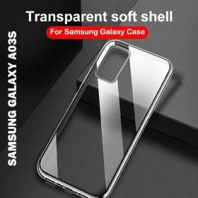 Samsung Galaxy A03S prémium szilikon tok, átlátszó - mobshop.hu